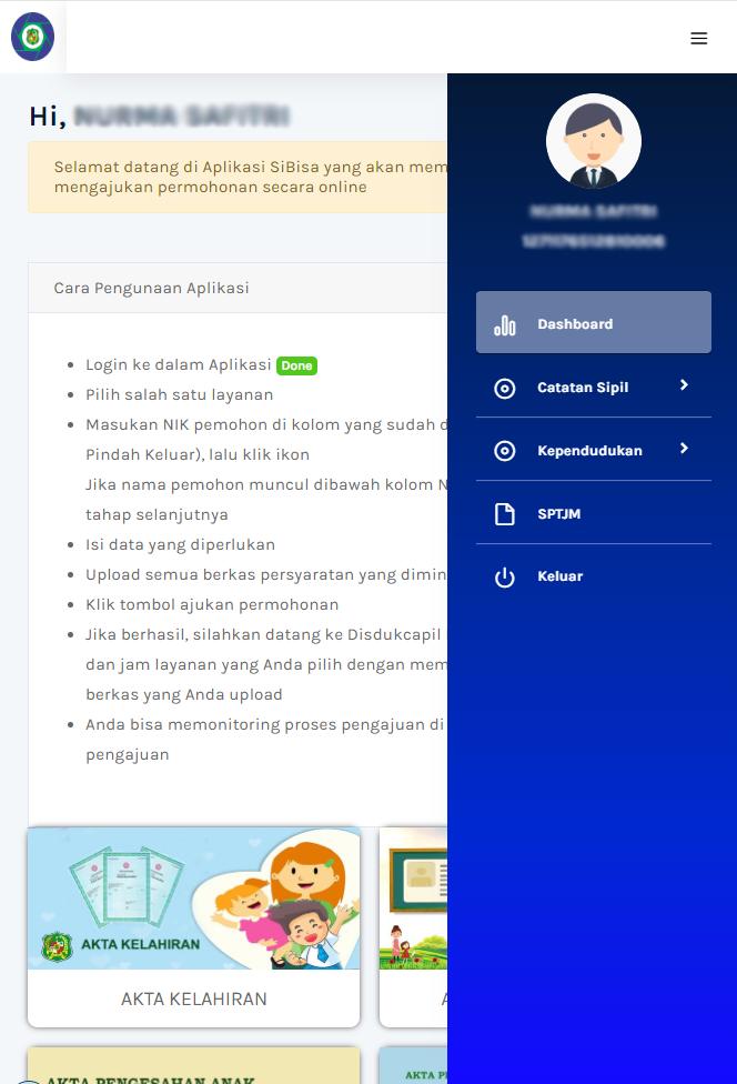 Aplikasi Pelayanan Administrasi Kependudukan Kota Medan